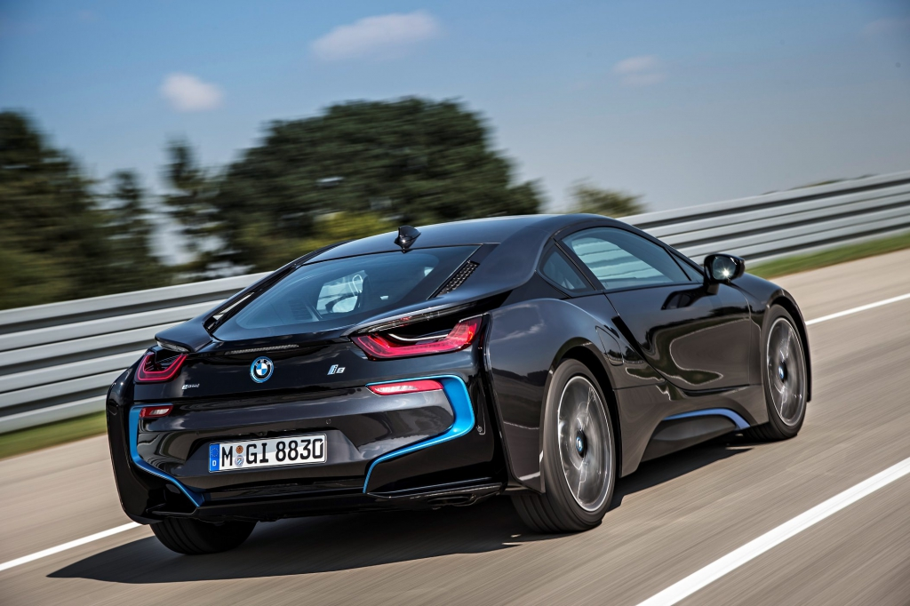 bmw i8 sportwagen hybrid elektro konzept details 5 bmw. Black Bedroom Furniture Sets. Home Design Ideas