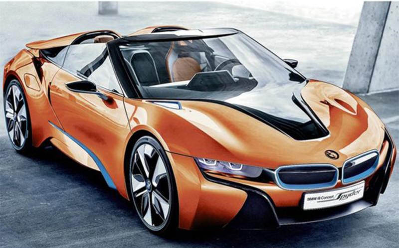 View Larger Image BMW I8 Spyder