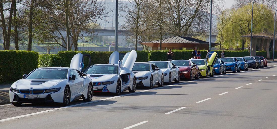 BMW i8 zusammen - together