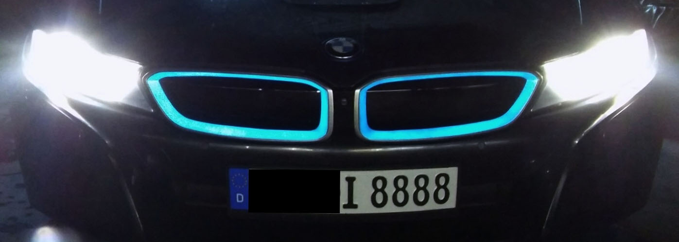LumiLor Projekt mit dem BMW i8