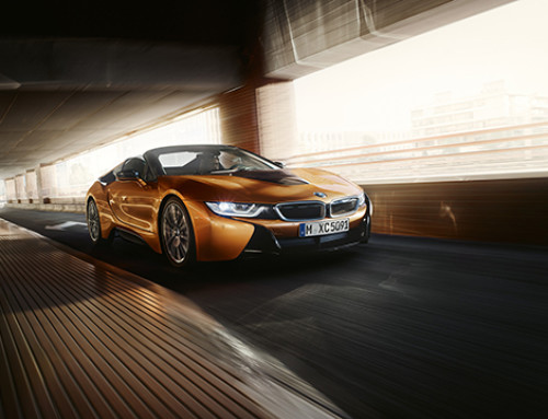 First Videos of the new BMW i8 Roadster